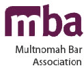 Logo Recognizing Robert Crow Law's affiliation with the Multnomah Bar Association