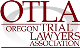 Logo Recognizing Robert Crow Law's affiliation with Oregon Trial Lawyers Association